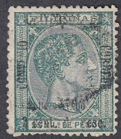 Philippines, Scott #72, Used, Alfonso XII Surcharged, Issued 1879 - Philipines