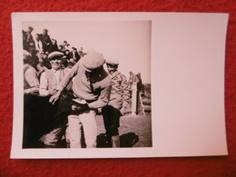 SAINTES MARIES DE LA MER CAMARGUE GARDIAN MANADE TROUCHAUD PHOTO 12.5 X 8.5 - Luoghi