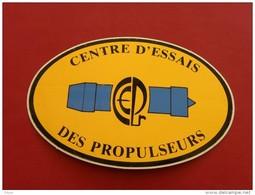 Autocollant, Sticker, C.E.P - Centre D'essais Des Propulseurs - (085P5.r) - Stickers