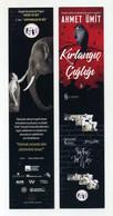 Marque-page Turc Avec éléphant Et Logo Pink Floyd The Wall. Turquie Turkey Türkei Türkiye - Bookmarks