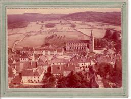 CPSM Dentelée - (70) GY - Vue Aérienne Du Bourg, Ecole Ménans Et Eglise - Années 60 - Other Municipalities