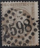 56 (cote 6 €) Obl GC 2598 Nancy (52 Meurthe ) Ind 1 - 1849-1876: Klassieke Periode