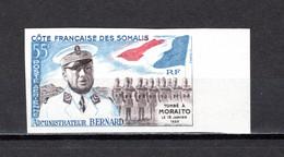 COTE DES SOMALIS  PA N° 27 NON DENTELE  NEUF SANS CHARNIERE COTE 25.00€  ADMINISTRATEUR BERNARD - Neufs