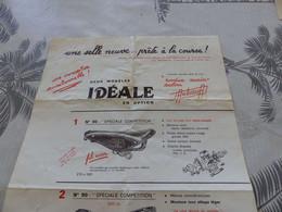 M-156,  Tron & Berthet , Fabricant De Selle De Vélo, - Publicités