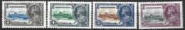 British Honduras  1935  SG  143-6  Silver Jubilee    Mounted Mint - Honduras Britannique (...-1970)