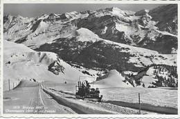 Bretaye. Chamossaire, En Funiski (transport De Skis Et De Skieurs). Circulée 1946 Villars-sur-Ollon. - VD Vaud