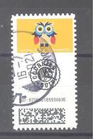 France Autoadhésif Oblitéré N°1923 (Chouettes - Timbre Suivi) (cachet Rond) - 2010-.. Matasellados