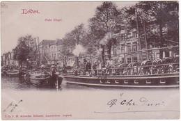 Leiden Oude Singel Stoomboot VN831 - Leiden
