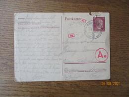 POSTKARTE MUNCHEN HAUPTSTADT DER BEWEGUNG 7-8. 44. ENTIER POSTAL DEUTSCHES REICH 15 - Documents