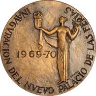ESPAÑA. MEDALLA FERIA MUESTRARIO INTERNACIONAL DE VALENCIA. 1.969. BRONCE. CON ESTUCHE. ESPAGNE. SPAIN MEDAL - Professionals/Firms