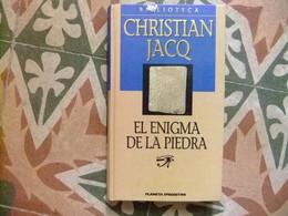 EL ENIGMA DE LA PIEDRA // CHRISTIAN JACQ // PLANETA D'AGOSTINI - Cultural
