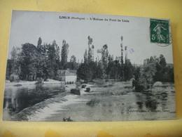 24 4263 CPA 1912 - 24 LISLE. L'ECLUSE DU PONT DE LISLE - Otros Municipios
