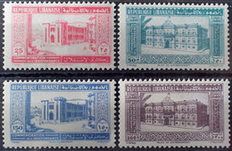 R2269/317 - 1943 - COLONIES FR. - GRAND LIBAN / REPUBLIQUE LIBANAISE - SERIE COMPLETE - N°189 à 192 NEUFS** - Neufs