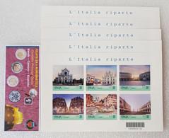 """FOGLIETTO """"L'ITALIA RIPARTE"""" - TURISTICA 2021 - Blocks & Sheetlets"""