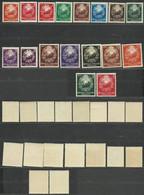 Romania 1952 Mi 1370-1384 MNH  (ZE4 RMN1370-1384) - Sellos