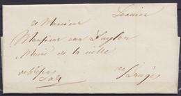 L. Datée 10 Novembre 1814 De BRUGES Pour E/V - 1794-1814 (French Period)