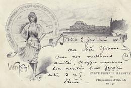 SYL Ostende Welkom L Exposition D Ostende En 1901 - Oostende