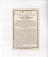 ()  E.H.JOZEF BONTE °AARTRIJKE 1879 +BRUGGE 1903 - FRATER GODEFRIED Minderbroeder Capucienen - Santini