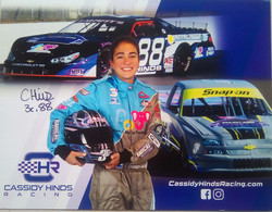 Cassidy Hinds ( American Race Car Driver) - Authographs