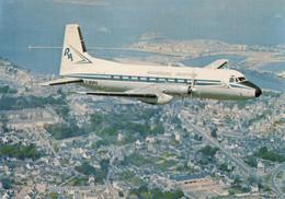 CPA - Hawker Siddeley 748 - Compagnie Rousseau Aviation ( Carte Compagnie ) - 1946-....: Era Moderna