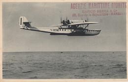 CPA - Hydravion Dornier Superwal - Compagnie S.A Navigazione Aerea ( Italie ) ( Cachet D'agence ) - 1919-1938: Entre Guerres