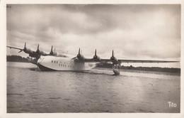 """CPA - Hydravion Latécoère 631 N° 2 ( F-BANT ) """" Lionel De Marmier """" Sur L'étang De Biscarosse - 1919-1938: Entre Guerres"""