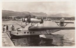 "CPA - Hydravion Loiré Et Olivier H 242 "" Ville De Tripoli "" - Compagnie Air France -  A Ajaccio - 1919-1938: Interbellum"