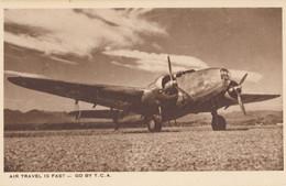 CPA - Lockheed 14 Super Electra - Compagnie Trans Canada Air Lines - 1919-1938: Entre Guerres