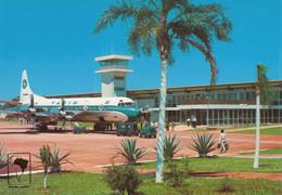 CPA - Lockheed L-188 Electra - Compagnie VARIG - Aéroport De Foz Do Iguaçu ( Brésil ) - 1946-....: Era Moderna
