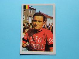 BERNARD VAN DE KERKHOVE ( N° 52 ) >>> Zie Foto's Voor & Achter ( Voir SCAN ) ! - Wielrennen