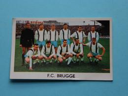 F.C. BRUGGE ( Blanco Achterkant ) >>> Zie Foto ( Voir SCAN ) Formaat +/- 7 X 4,5 Cm. ( Jaartal 19?? ) ! - Trading Cards