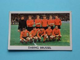 DARING BRUSSEL ( Blanco Achterkant ) >>> Zie Foto ( Voir SCAN ) Formaat +/- 7 X 4,5 Cm. ( Jaartal 19?? ) ! - Trading Cards