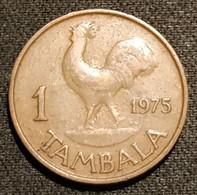 MALAWI - 1 TAMBALA 1975 - KM 7.2 - Malawi