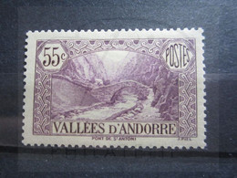 VEND TIMBRE D ' ANDORRE FRANCAIS N° 66 , NEUF AVEC CHARNIERE !!! - Unused Stamps