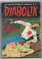 Diabolik (Astorina 1974) Anno XIII° N. 13 - Diabolik