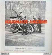 1900 LE CHAH DE PERSE - S. M. MOUZAFFER ED DINE - LE ROI DES ROIS ET L'AUTOMOBILE - LA VIE AU GRAND AIR - 1900 - 1949