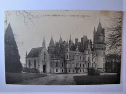 FRANCE - MAINE ET LOIRE - LA JUMELLIERE - Château De La Fautrière - Andere Gemeenten
