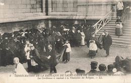 PARIS :  CONSECRATION DE LA BASILIQUE DU SACRE COEUR 16 OCTOBRE 1919 - Andere