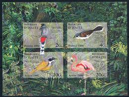 Bloc Sheet OIseaux Birds  Neuf MNH **  Haiti 1999 - Other