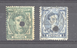 Espagne   :  Yv  168-69  (o) - Used Stamps