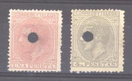 Espagne   :  Yv  190-91  (*) - Unused Stamps