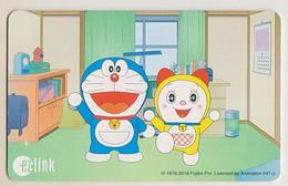 Singapore Travel Transport Card Subway Train Bus Ticket Ezlink Unused Doraemon - Mondo