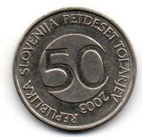 2003 - Slovenia 50 Tolarjev - Slovenia