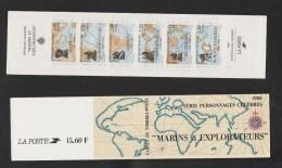 """FRANCE / 1988 / Y&T N° 2517/2522 ** En BC Ou BC 2523 ** (Bande-carnet """"Marins & Explorateurs"""") Non Pliée X 1 - People"""