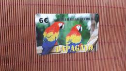 Phonecard Bird Papagayo Used Rare - Pappagalli