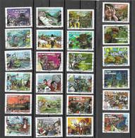 Série Adhésifs Autocollants Année 2011 Fêtes Et Traditions De Nos Régions YVERT AA566 / AA589 Oblitérés - Sin Clasificación