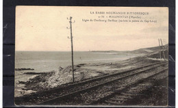 CPA 50 MAUPERTUS   ( Ref 50 - 967 )  Ligne Cherbourg- Barfleur - Altri Comuni