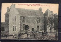 CPA 50 MAUPERTUS   ( Ref 50 - 968 ) Le Manoir - Altri Comuni