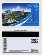 Ankara Card 2021 - Turquie Turkey Türkiye Türkei - Pour Transports Publics : Métro Et/ou Tramway - Welt