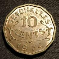 SEYCHELLES - 10 CENTS 1974 - Elizabeth II - KM 10 - Seychelles